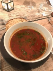 Tomato and Pesto soup